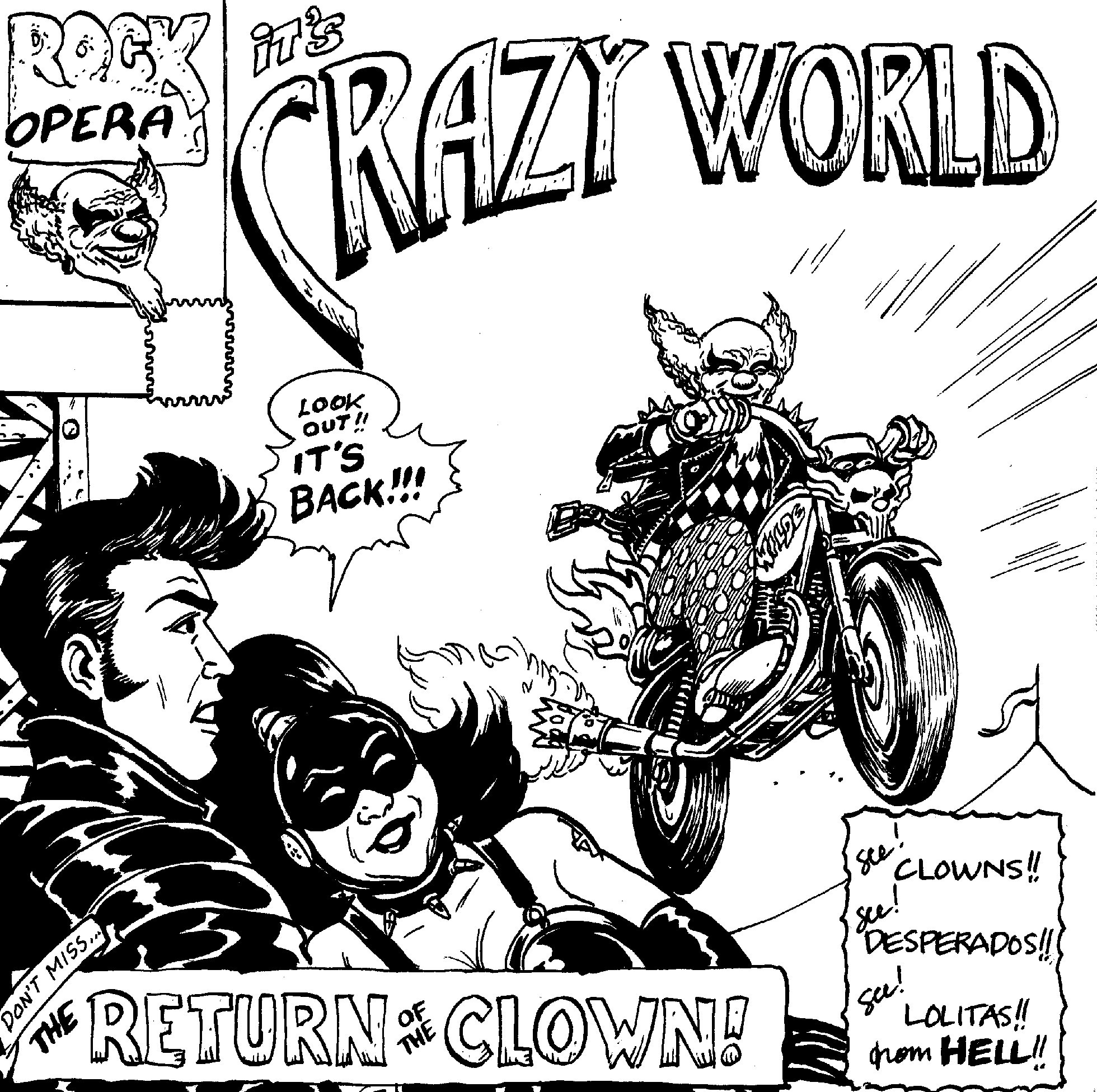 Crazy World: Return Of The Clown -Rock Opera