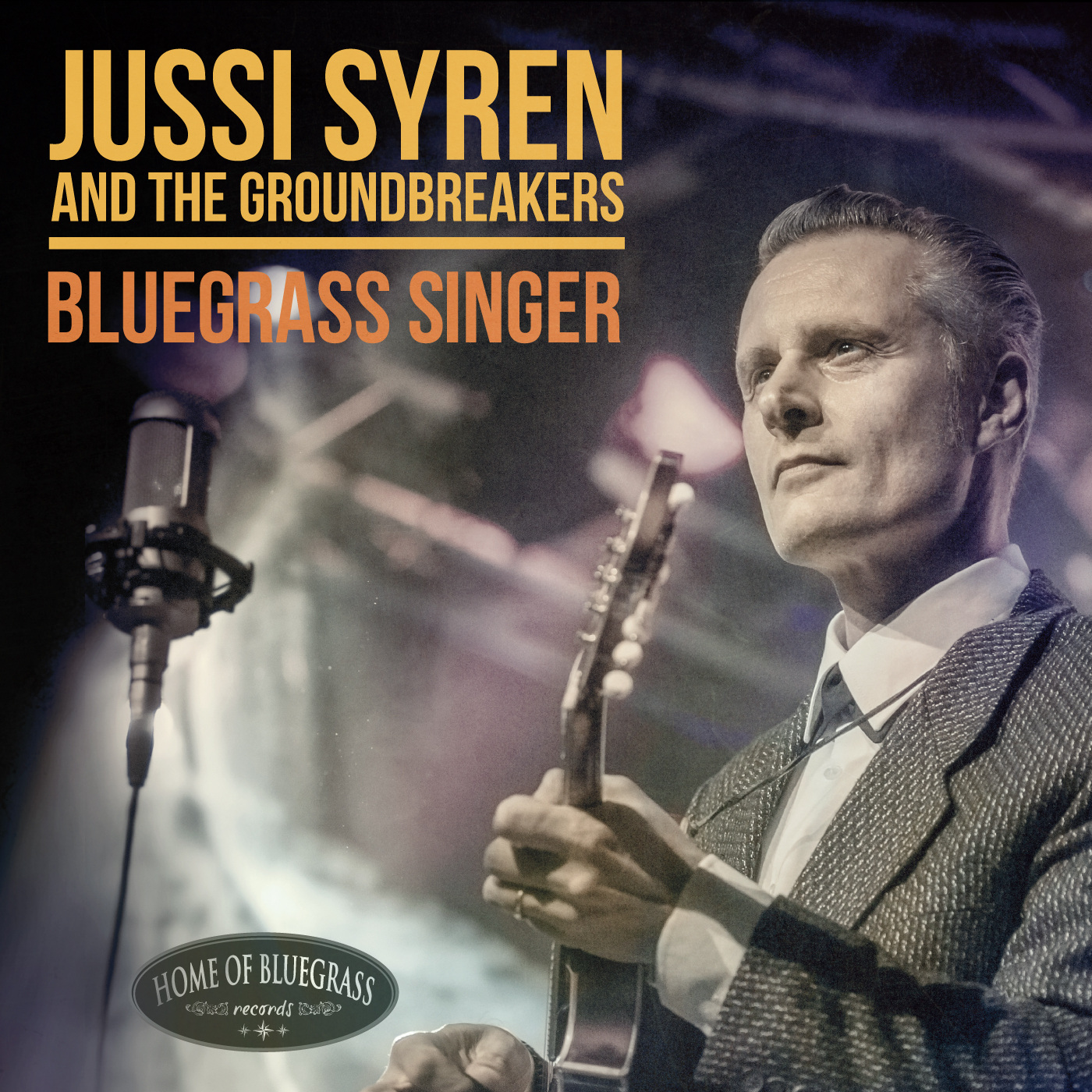 Jussi Syren And The Groundbreakers: Bluegrass Singer
